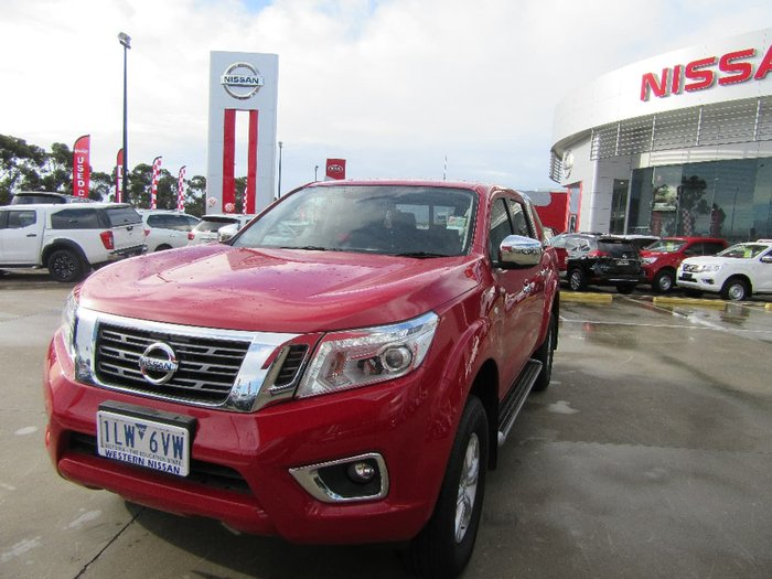 2017 NISSAN NAVARA ST D23 Series 2 Red