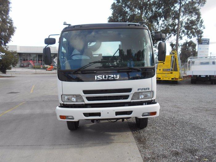 2007 Isuzu FRR500 WHITE