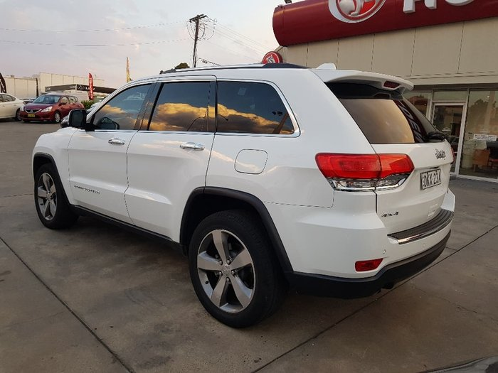 2015 JEEP GRAND CHEROKEE LIMITED WK White