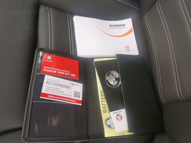2015 Holden Insignia VXR GA MY16 Four Wheel Drive Silver