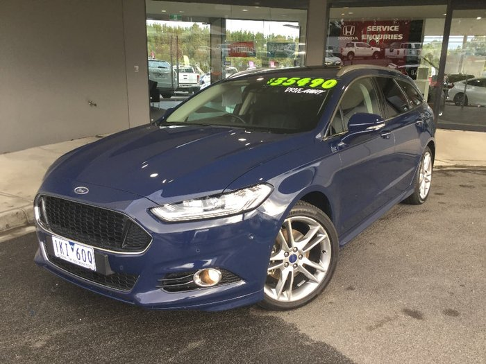 2017 FORD MONDEO Titanium MD Blue