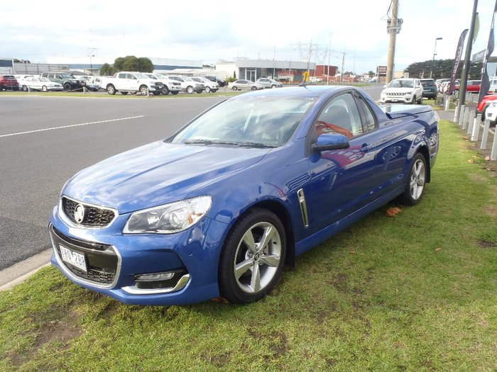 2016 HOLDEN UTE SV6 VF Series II Blue