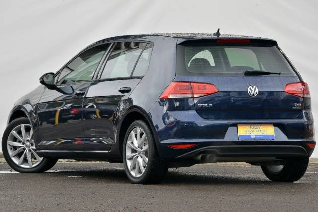 2013 VOLKSWAGEN GOLF 103TSI HIGHLINE VII NIGHT BLUE