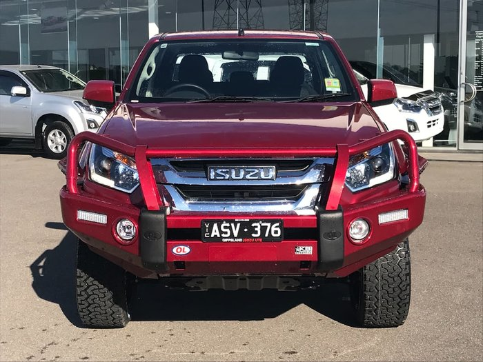 2018 ISUZU D-MAX LS-M (No Series) Red