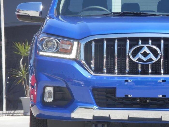 2018 LDV T60 LUXE 4X4 BLUE