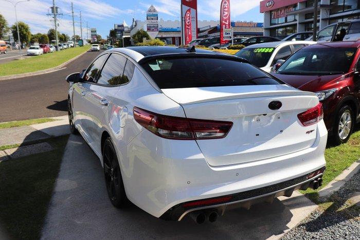 2016 Kia Optima GT JF Snow White Pearl