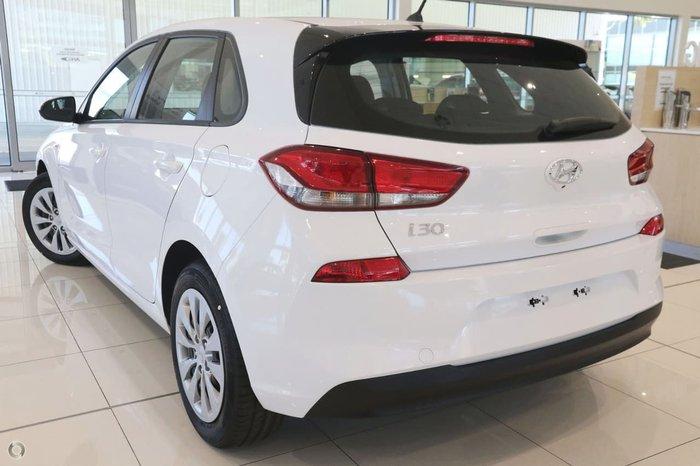2017 HYUNDAI I30 GO PD White