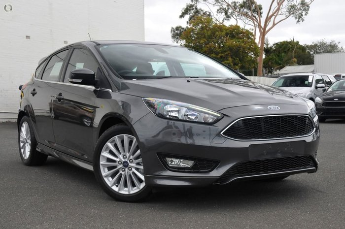 2018 FORD FOCUS SPORT LZ Grey