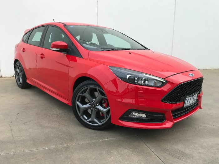 2017 FORD FOCUS ST LZ Red