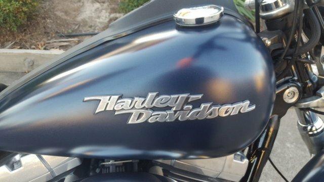 2008 HARLEY-DAVIDSON FXDB STREET BOB Blue