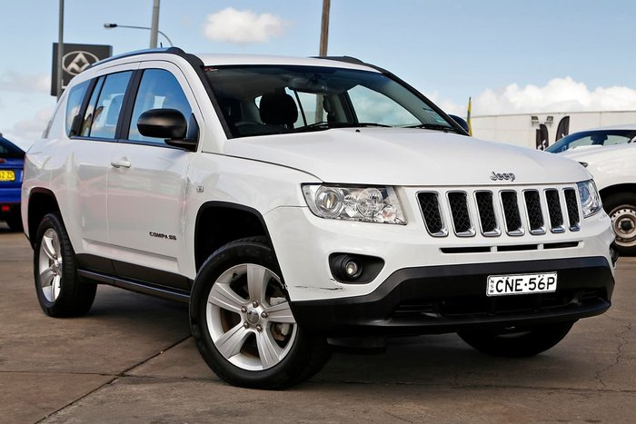 2012 JEEP COMPASS LIMITED MK White