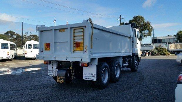 2018 Fuso FV51 FV51 Heavy 6x4 Tipper White