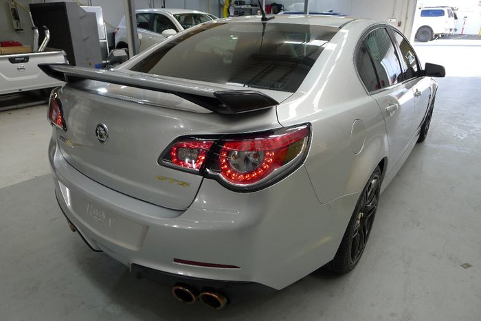 2013 HOLDEN SPECIAL VEHICLES GTS GEN-F Silver