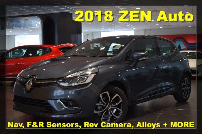 2018 RENAULT CLIO ZEN IV B98 Phase 2 Grey