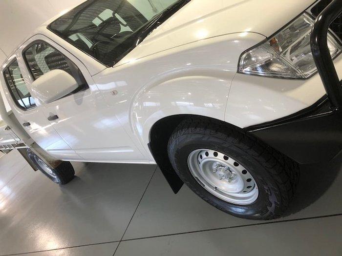2013 NISSAN NAVARA RX D40 Series 7 White
