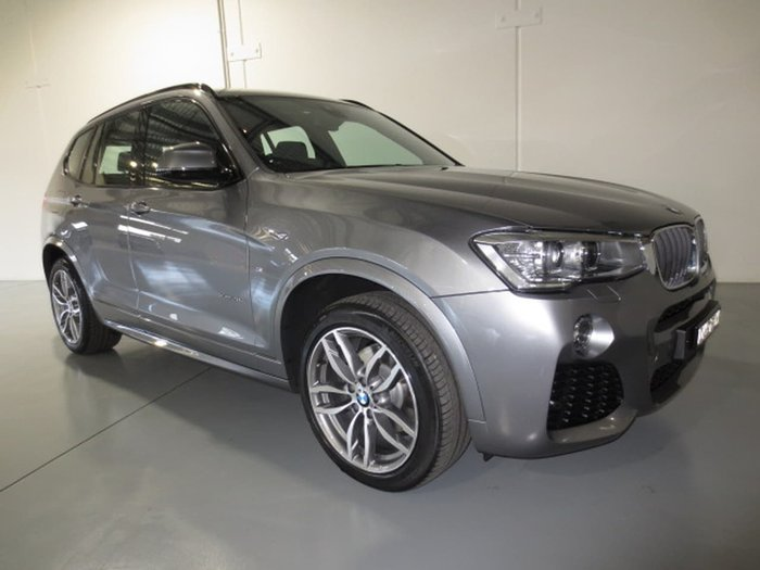 2017 BMW X3 XDRIVE20D F25 LCI Grey
