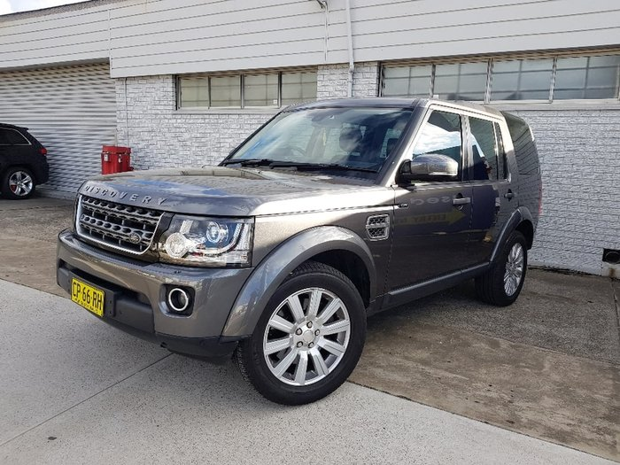 2014 LAND ROVER DISCOVERY TDV6 Series 4 Grey