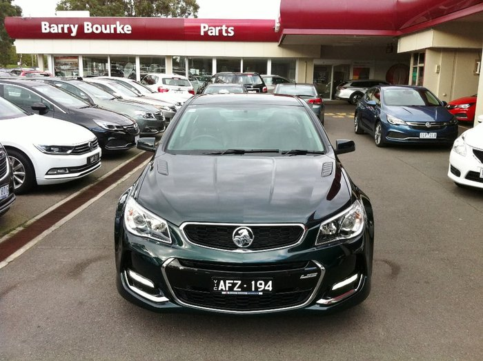 2016 HOLDEN COMMODORE SS V VF Series II Green