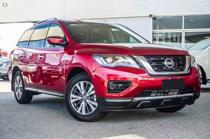 2018 NISSAN PATHFINDER ST R52 Series II Red