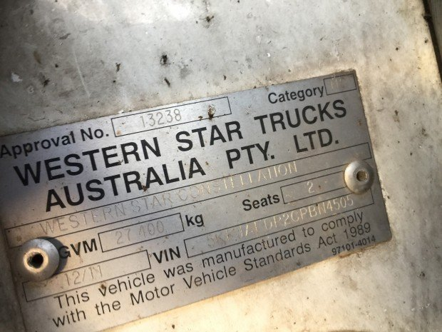 2011 Western Star 4864FX 4864