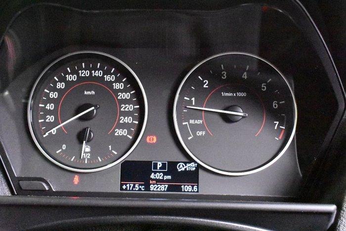 2014 BMW 116I F20 Black
