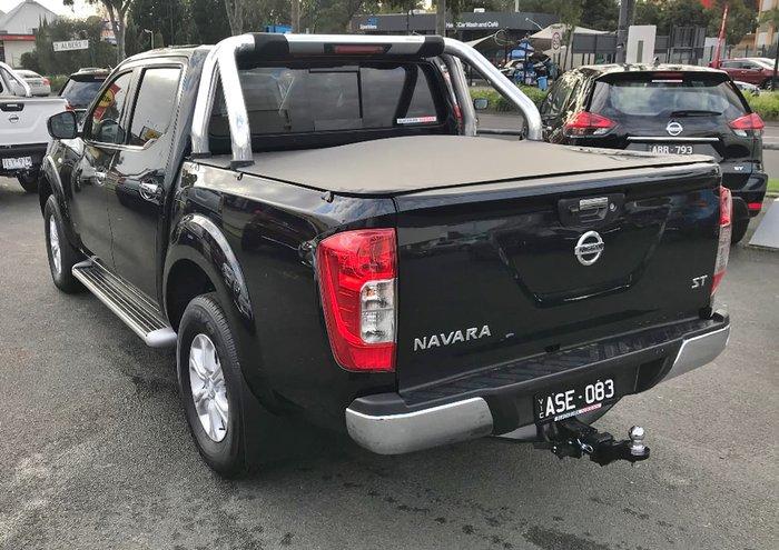 2017 NISSAN NAVARA ST D23 Series 2 Black