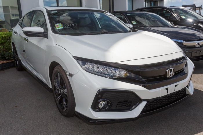 2017 Honda Civic RS 10th Gen White Orchid