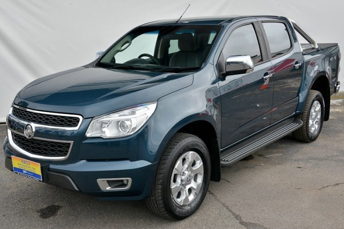 2015 HOLDEN COLORADO LTZ DUAL CAB RG MY15 BLUE MOUNTAIN