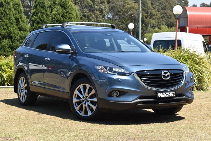 2013 Mazda CX-9 Grand Touring TB Series 5 Four Wheel Drive BLUE REFLEX