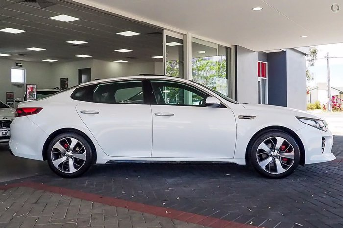 2018 KIA OPTIMA GT JF White