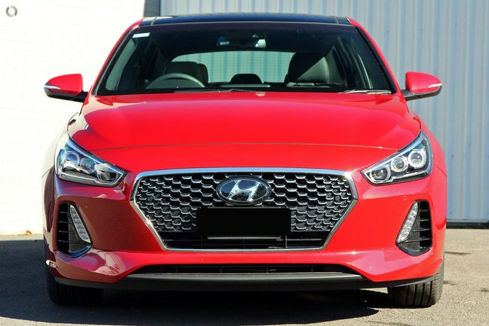2017 HYUNDAI I30 SR Premium PD Red