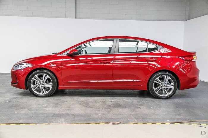 2018 HYUNDAI ELANTRA Elite AD Red
