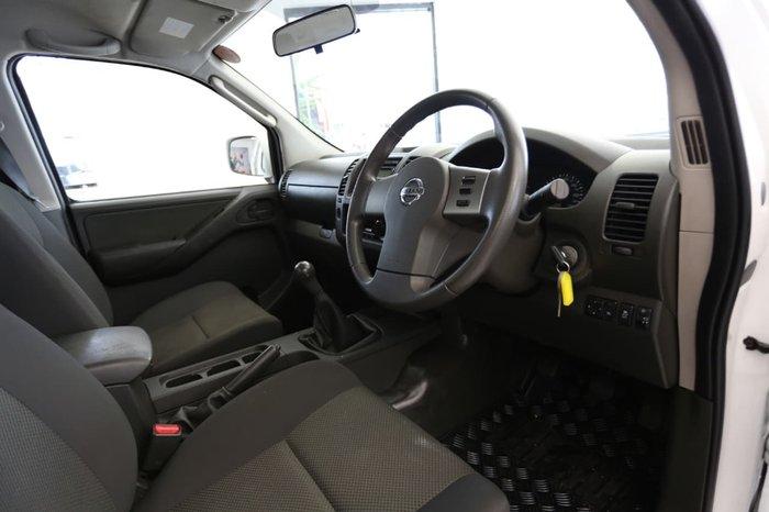 2013 NISSAN NAVARA RX D40 Series 8 White