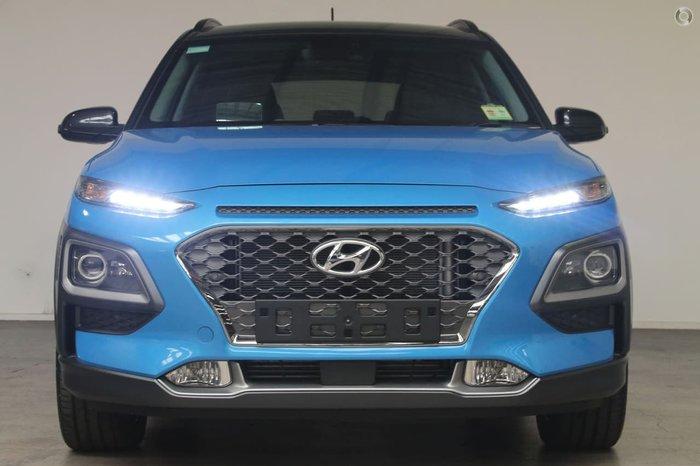 2018 HYUNDAI KONA Highlander OS Blue