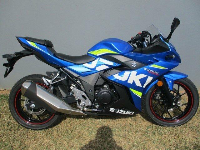2017 Suzuki GSX250-R Blue