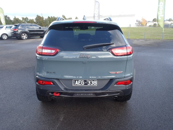 2015 JEEP CHEROKEE Trailhawk KL Grey