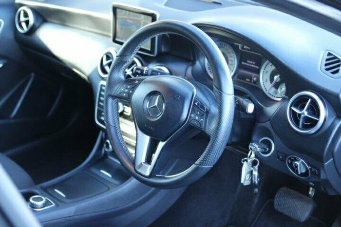 2014 MERCEDES-BENZ A200 W176 Black
