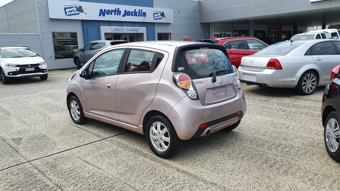 2011 Holden Barina Spark CD MJ MY11 PINK