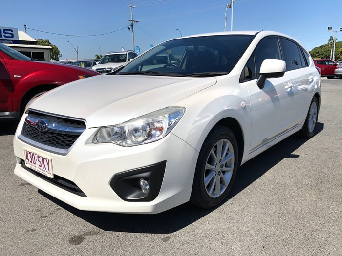 2012 Subaru Impreza 2.0i G4 MY12 Four Wheel Drive WHITE