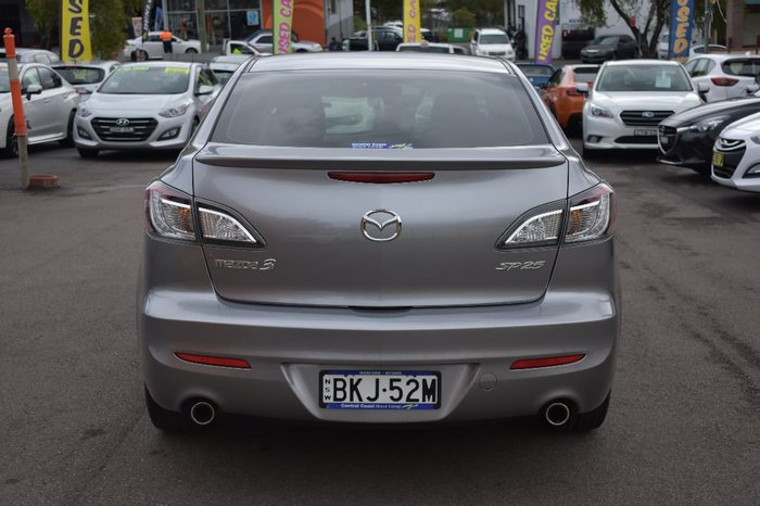 2009 MAZDA 3 SP25 BL Series 1 Silver