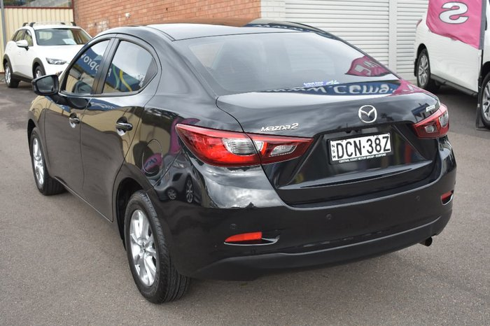 2016 MAZDA 2 Maxx DL Series Black