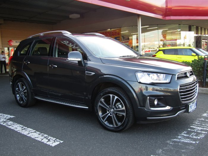 2016 HOLDEN CAPTIVA LTZ CG Grey