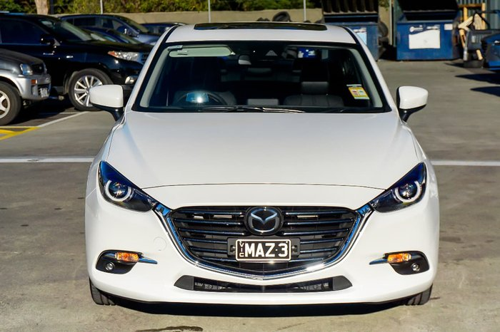 2018 MAZDA 3 SP25 Astina BN Series White