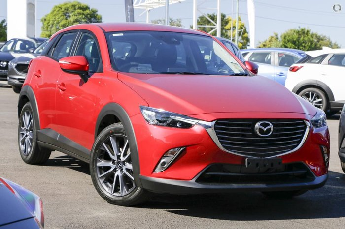 2018 MAZDA CX-3 sTouring DK Red