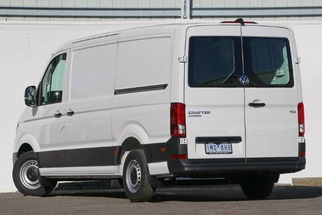2018 VOLKSWAGEN CRAFTER 35 TDI340 RUNNER MWB SY1 MY18 CANDY WHITE