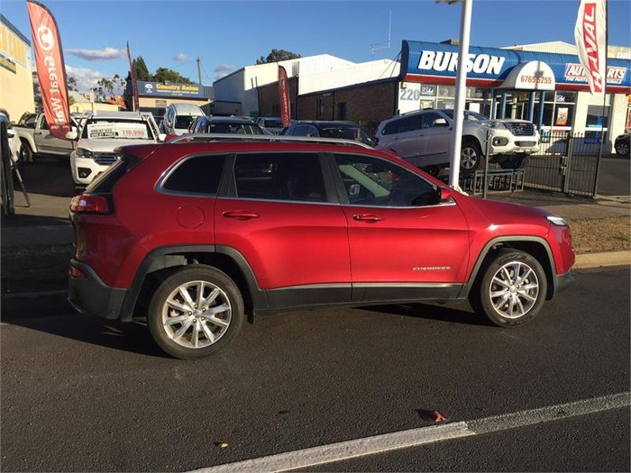 2015 Jeep Cherokee Limited KL MY15 Red