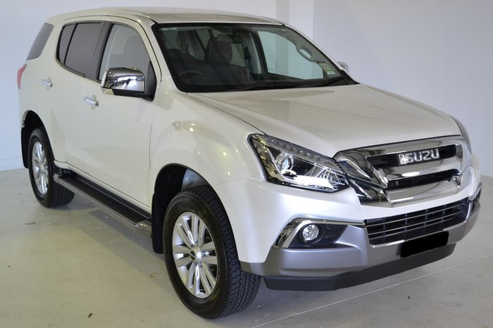 2017 ISUZU MU-X LS-U (No Series) White