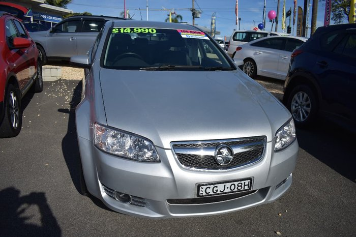 2012 HOLDEN COMMODORE Equipe VE Series II Silver