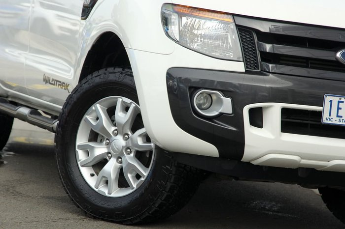 2015 FORD RANGER Wildtrak PX White