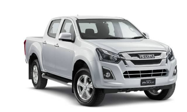 2018 ISUZU D-MAX 4x2 SX HIGH RIDE DUA MY18 SPLASH WHITE
